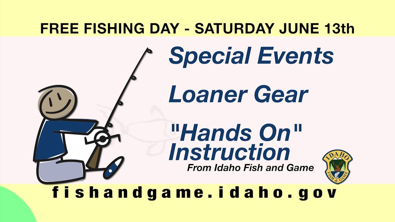 Free fishing day is june 13 2015 youtube for Free fishing day
