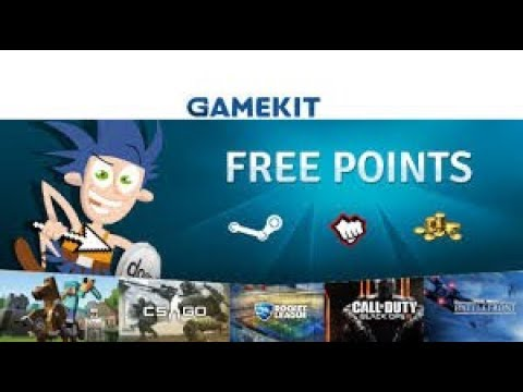 gamekit how to get points