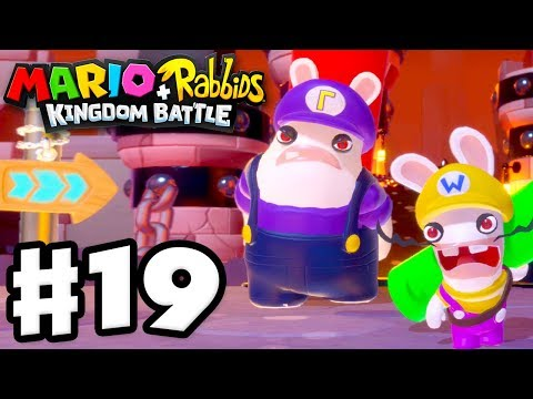 Download Youtube: Mario + Rabbids Kingdom Battle - Gameplay Walkthrough Part 19 - Bwario and Bwaluigi!