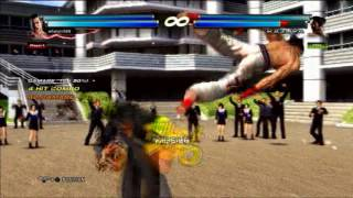 Tekken tag 2 Nina & Feng combo movie