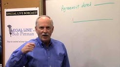 Legal Line® with Bob Pittman - How to sign as Power of Attorney