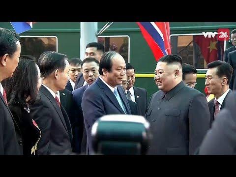 President Kim Jong Un's train arrived in Lang Son, Vietnam | Kim - Trump Summit 2019| VTV24