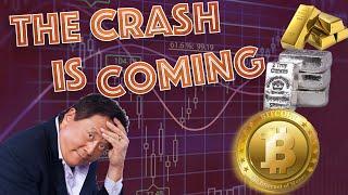 The CRASH IS COMING! Robert Kiyosaki & Economist Steven Davis REVEAL All! 75k Bitcoin Gold & Silver