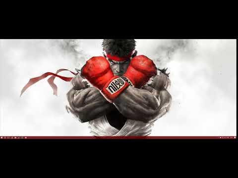Wallpaper Street Fighter - Ryu - Wallpaper Engine - Steam