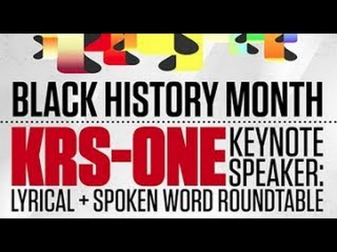 KRS-ONE CSULA Full Lecture