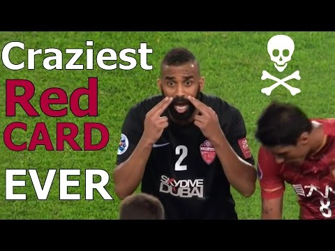 Craziest Red Card Reaction in Football History