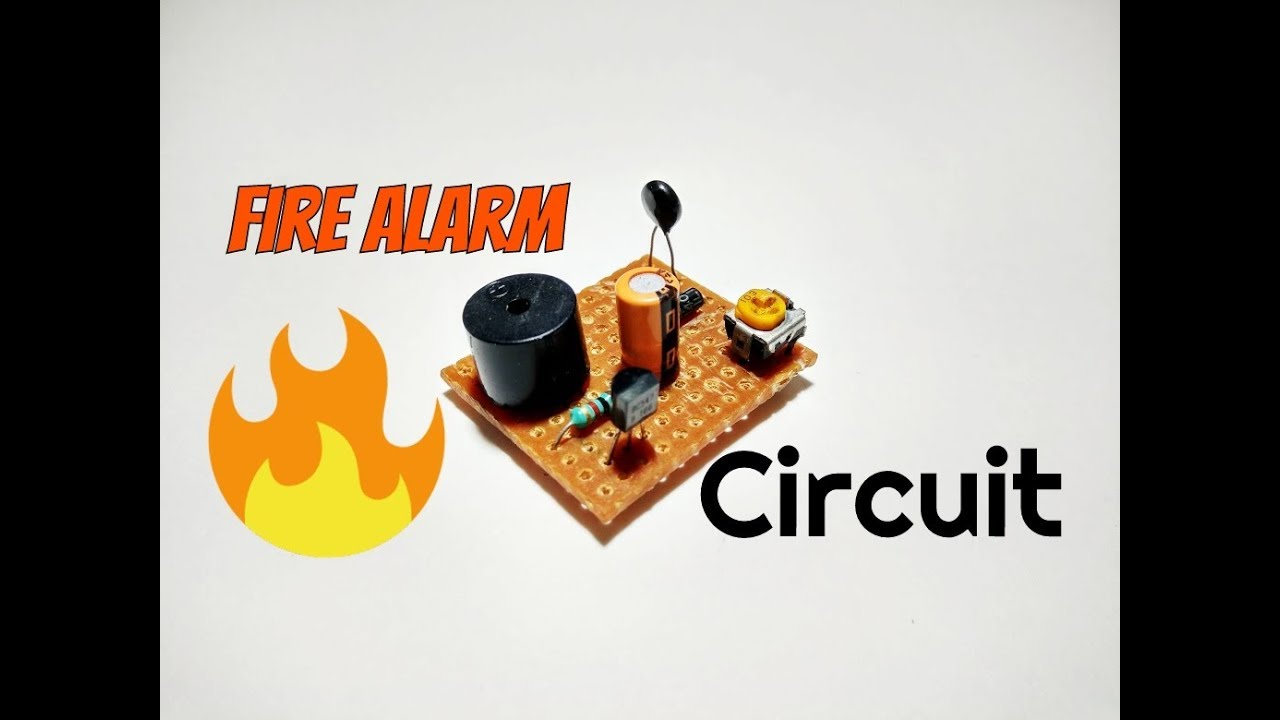 How To Make A Fire Alarm Circuittemperature Sensor Circuita Thermistor Arduino 10k Circuit Simple Heat