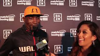 "Walter Kautondokwa on fighting Demetrius Andrade ""I'm here for business, not fun!"""