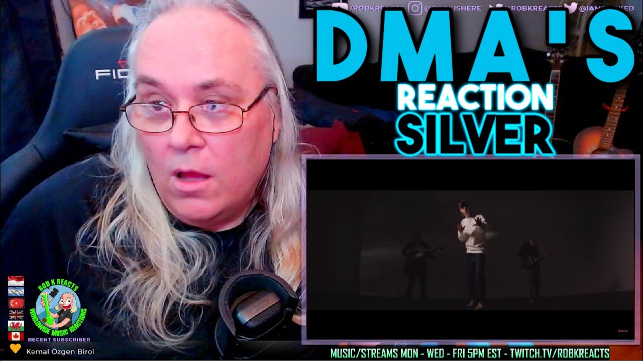 DMA'S Reaction - Silver - First Time Hearing - Requested
