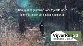 Klaar voor Vijverrun33?