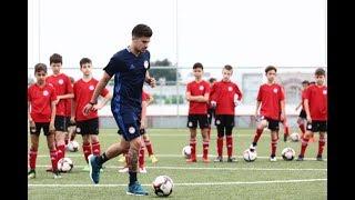 Ο Θανάσης Ανδρούτσος προπονεί την Κ-10 της Ακαδημίας μας / Thanasis Androutsos trains the U-10 team