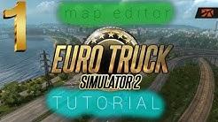 ETS 2 TUTORIAL Map-Editor #1 | Aktivierung und Erklärung der Symbole | Deutsch | KiliHD