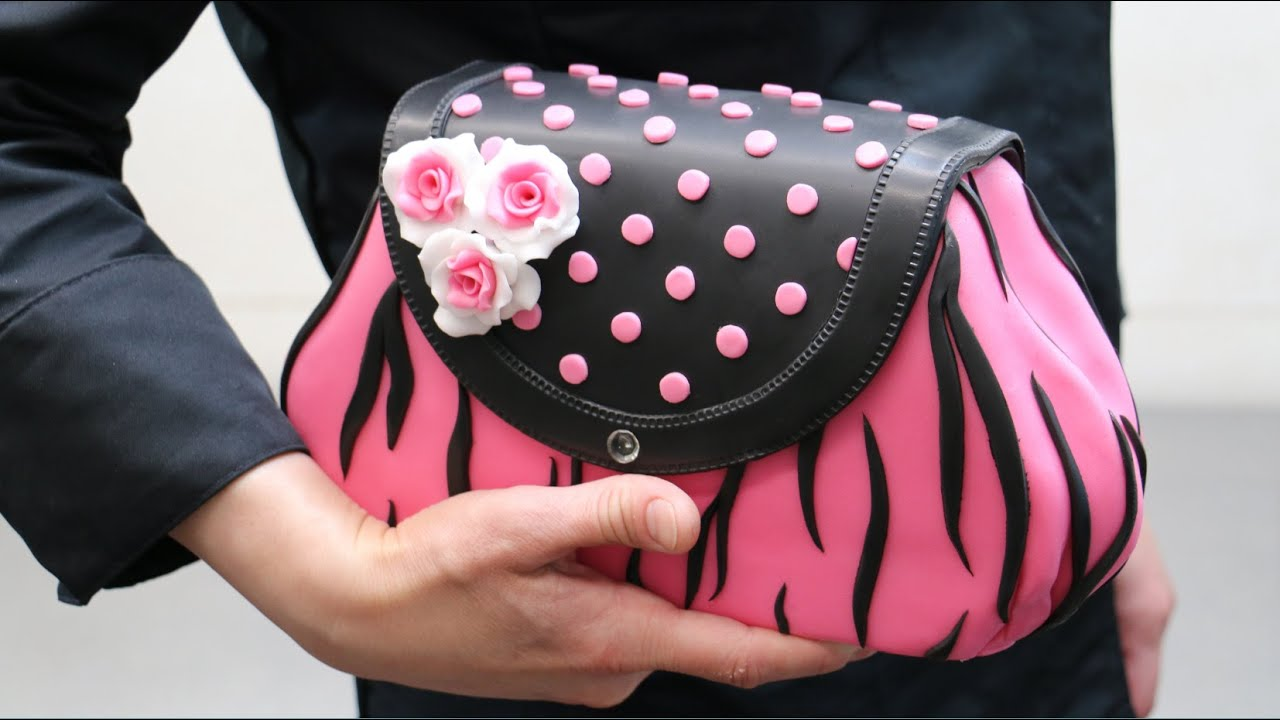 929cb96338d00a A Very Delicious Purse  How To Make by CakesStepbyStep. Cakes StepByStep