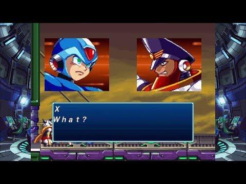 Rockman X4 / MegaMan X4 - Colonel Battle: Space Port (X Perfect Run)