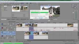 Урок 12 Sony Vegas Вывод проекта в готовый файл