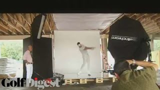 Behind The Scenes with Ian Poulter-Cover Shoots-Golf Digest