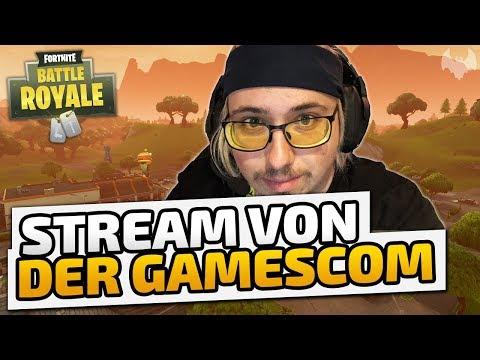 Stream von der Gamescom - ♠ Fortnite Battle Royale: Gamescom ♠ - Deutsch German - Dhalucard