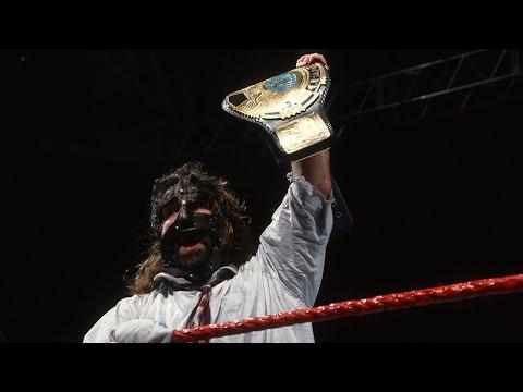 The Rock vs Mankind  WWE Championship No Disqualification Match: Raw, January 4, 1999