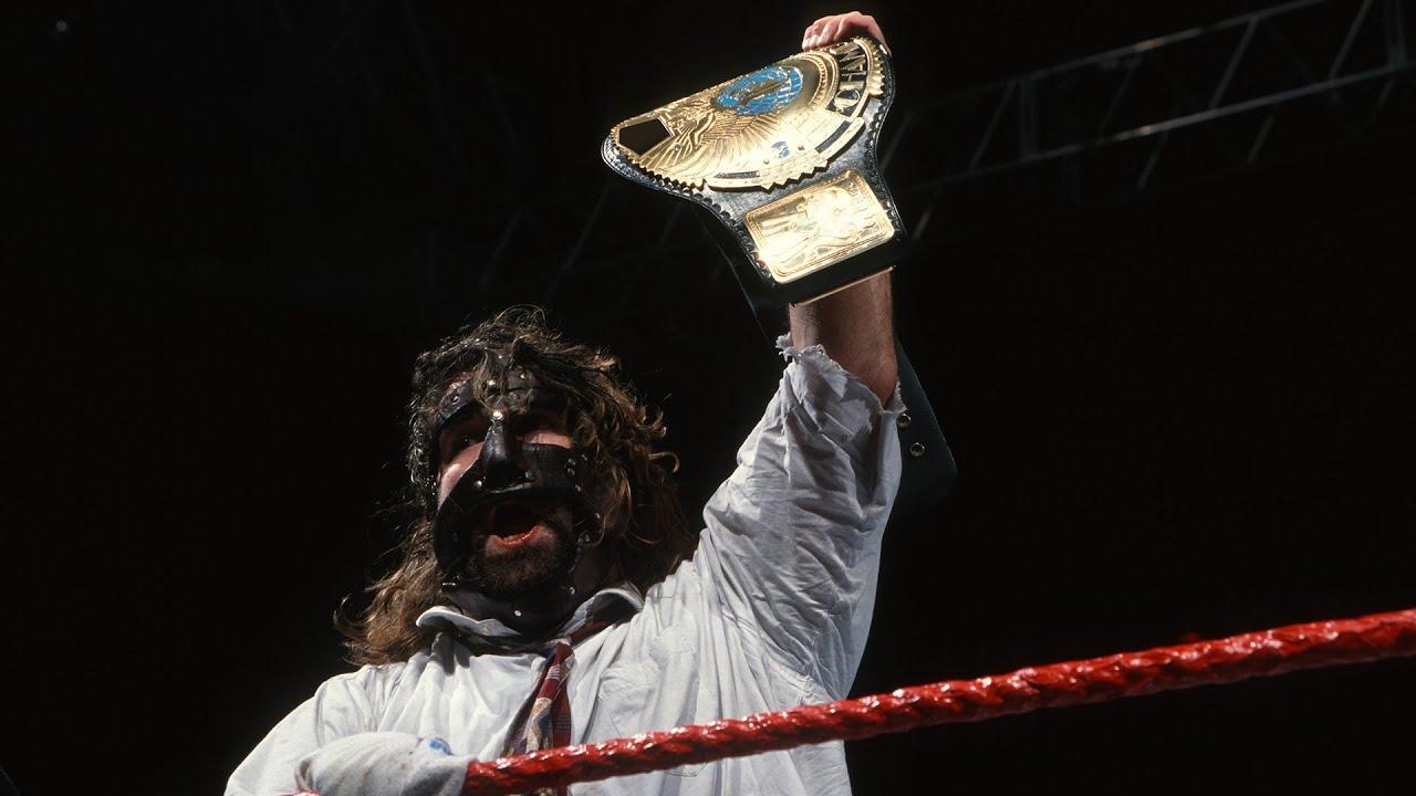 The Rock vs. Mankind - WWE Championship No Disqualification Match: Raw, January 4, 1999 - YouTube