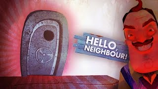 SECOND SECRET BASEMENT DOOR!! (Hello Neighbor Alpha 3 / Hello Neighbour Gameplay)