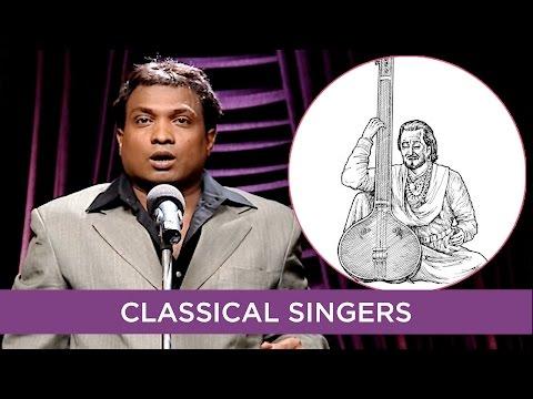 Sunil Pal Pokes Fun At Classical Singers | B4U Comedy