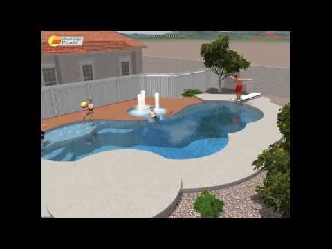 Swimming Pool Remodel design: How to Remodel your in ground swimming pool