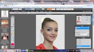 Как ровно вырезать фото в фотошопе онлайн by Ali