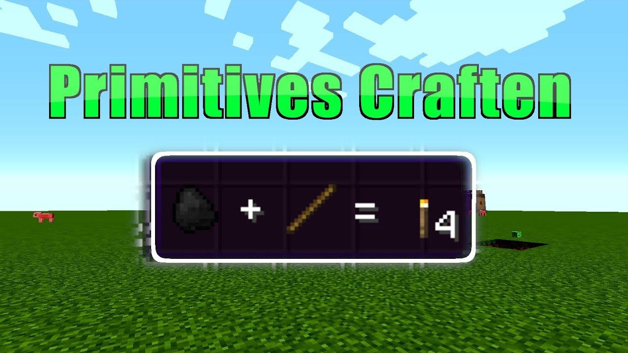 Minecraft Primitive Craften Mod Facken stöcke ohne ...