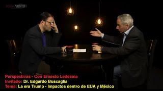 Perspectivas - La era Trump / Entrevista con Dr. Edgardo Buscaglia - 23/02/2017