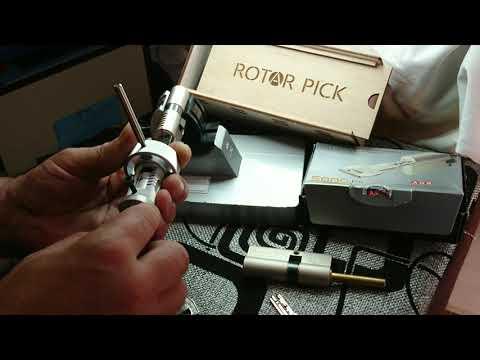 Взлом отмычками AGB 5000  Lockpicking tool for AGB 5000