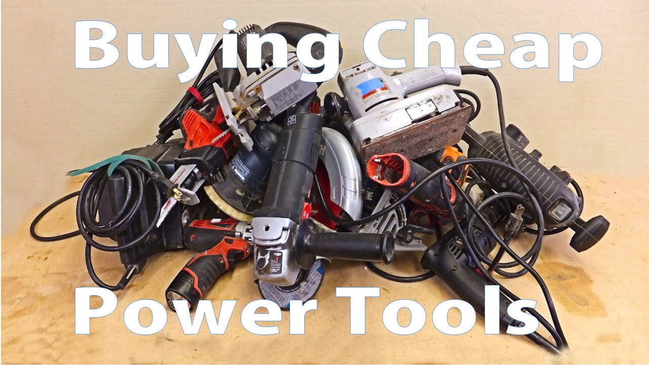 Buying Cheap Power Tools Woodworking Beginners 14 Woodworkeb