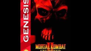 Mortal Kombat II Unlimited Sega Genesis