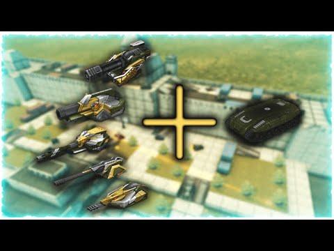 Tanki Online - Top 5 Best Turrets For Hornet