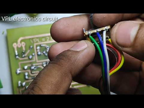 How To Make D718 B688 Circuit Board For Amplifier With Bass Treble Part 2