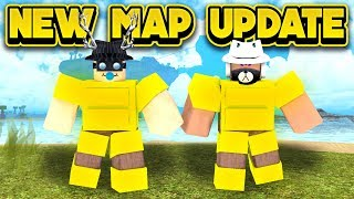 NEW MAP UPDATE! (ROBLOX Booga Booga)