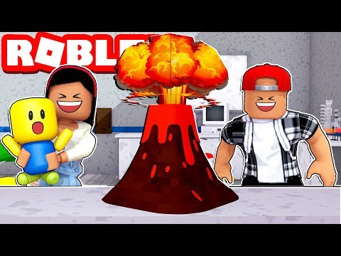 TAKING OUR NEW BABY TO A SCIENCE FAIR - ROBLOX The Wacky And Crazy Adventure Obby!