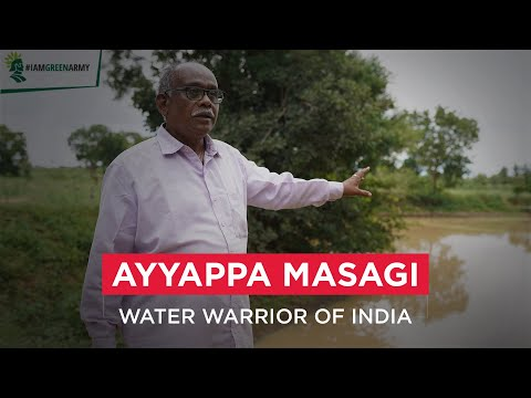 Mahindra Lifespaces meets Ayyappa Masagi - India's Water Warrior