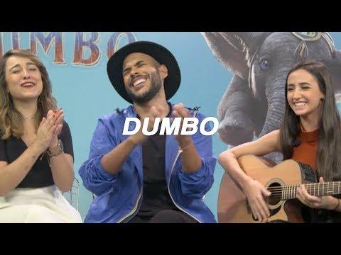 Tudo sobre o filme Dumbo com Hugo Gloss e Aline Diniz