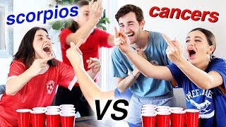 ULTIMATE BEER PONG: Scorpios V Cancers