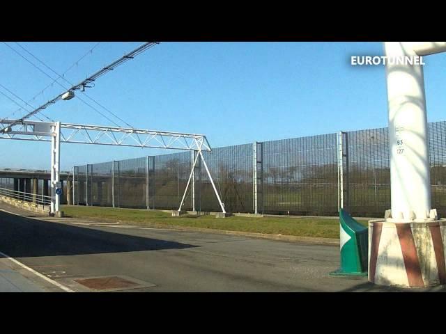 Med Eurotunnel til England