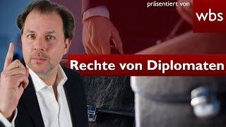 Dürfen sich Diplomaten alles erlauben? 10 Fakten! | Rechtsanwalt Christian Solmecke