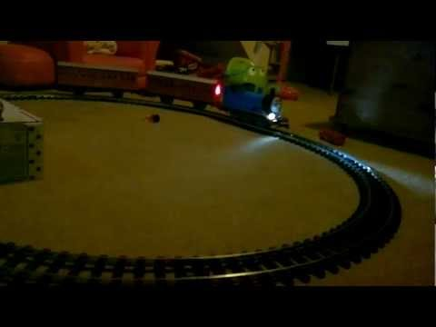 Bachmann G Scale Thomas the Tank Engine with lights and smoke
