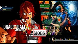 DBXV Mods: My Mod pack, compiled from the mods I use