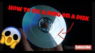 How to fix the ring on Xbox 360 games disc, unreadable disk