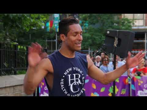"Zumba Fitness - Brazilian Samba @ Union Sq 14th St, NYC Summer 2018 - By: Wilson ""El Bailarin"""