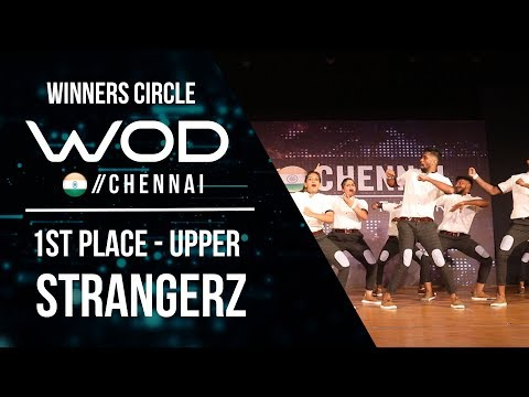 STRANGERZ CREW  | 1st Place Upper | Winner Circle | World of Dance Chennai Qualifier 17  | #WODCHE17