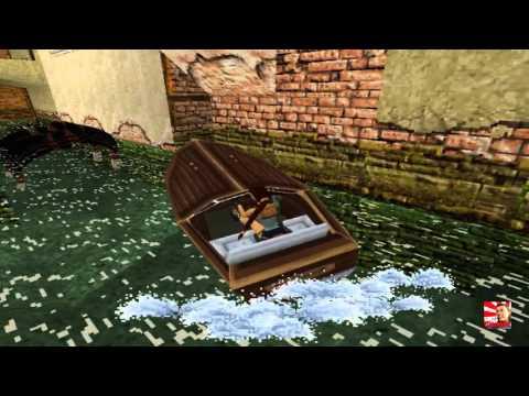 Tomb Raider 2, 1997 Gameplay #2 Venice (HD)