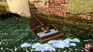 Tomb Raider 2, 1997 Gameplay #2 Venice (HD)