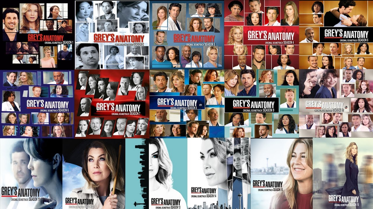 Grey S Anatomy Original Soundtrack Seasons 01 16 Música Completa Temporada 01 A 16 Descarga Youtube