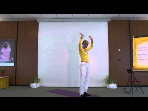 surya namaskar advanced variations with atmanshanti  youtube